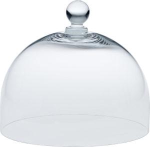 Glashaube für Tortenplatte M Ø 22cm
