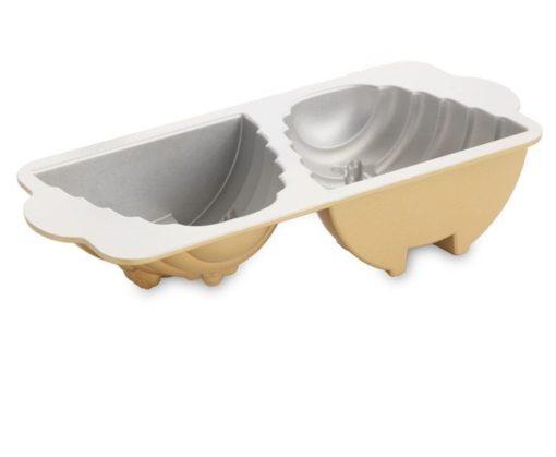 Backform Bienenstock / Gold - Nordic Ware