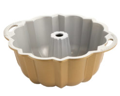 Backform 10-15 Cup Anniversary Bundt Pan / Gold - Nordic Ware
