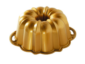 Backform 10-15 Cup Anniversary Bundt Pan / Gold - Nordic Ware