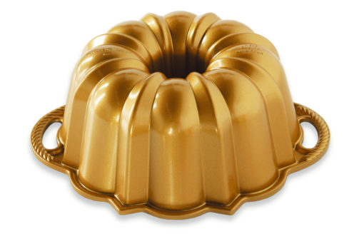 Backform 6-Cup Anniversary Bundt Pan / Gold - Nordic Ware