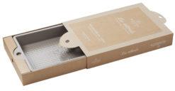 Kuchenform rechteckig sesamgrau, aus französischem Porzellan, 42,5 x 27,3 x 5,7 cm von Revol