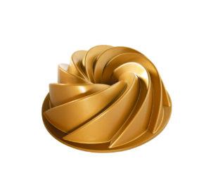 Backform Heritage Bundt Pan Rondo / Gold - 2,4 l - Nordic Ware