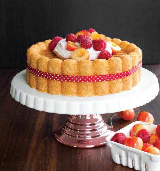 Backform Charlotte Cake Pan / Gold - Nordic Ware