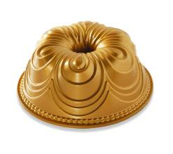 Backform Chiffon Bundt Pan / Gold - Nordic Ware