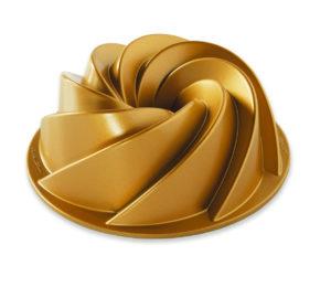 Backform Rondo 1,4 Ltr / Gold - Nordic Ware