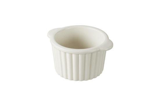 Ragoutförmchen creme 2er-Set, aus französischem Porzellan, 10 x 8,5 x 5,3 cm von Revol