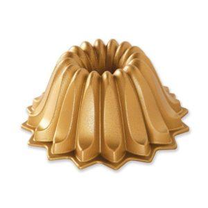 Backform Lotus Bundt Pan / Gold - Nordic Ware