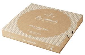 Tarte - Form sesamgrau, aus französischem Porzellan, 35 x 30 x 3,7 cm von Revol