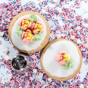Original Sugar and Crumbs Nifty Nozzle - Carnation
