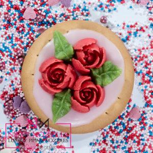 Original Sugar and Crumbs Nifty Nozzle - # 10 Petal Rose