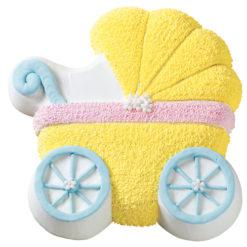 Wilton Motivbackform Kinderwagen