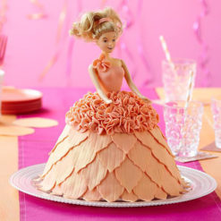 Backform 3D- Prinzessin