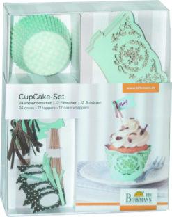 CupCake Deko-Set - Mint