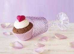 Papierbackförmchen für CupCakes - La belle Rose