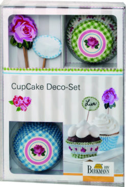 CupCake Deko-Set - Rose