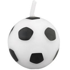 Kerzen Motiv Fußball Wilton Dekoration Torte