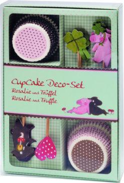 CupCake Deko-Set - Rosalie und Trüffel