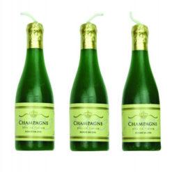 Kerzen Motiv Champagner