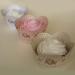 Cupcake Wrapper - Rosen Rosa